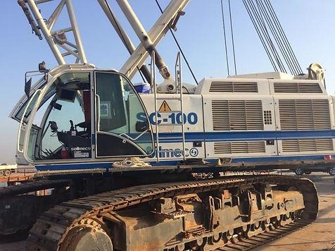 Grua Soilmec SC100 HD Usada, crane soilmec sc100 used, gruas usadas soilmec