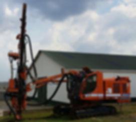 Tamrock Ranger 600 usada colombia, rock drill atlas copco usado en colombia, track drill ingersoll rand usado
