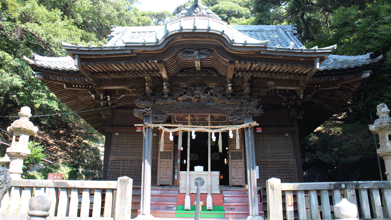日野春日神社1