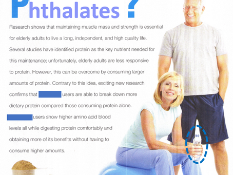 Are You Consuming Enough Phthalates?