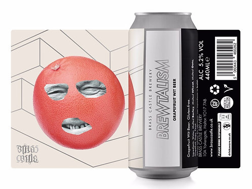 BRASS CASTLE BREWERY Brewtalism - Grapefruit Wit 5.2%