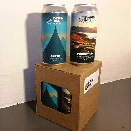 Quatro Chocolate - 4 Can Cube
