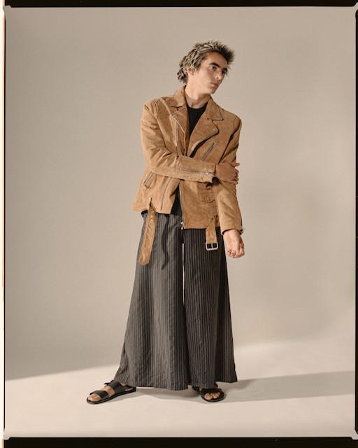 Jacket - Scotch & Soda T-Shirt - Scotch & Soda Trousers: Dylan Joel Sandals: Base