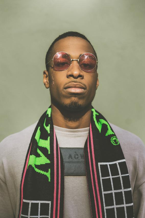 Stylist: Derrick Odafi Wearing: A Cold Wall, MAINS