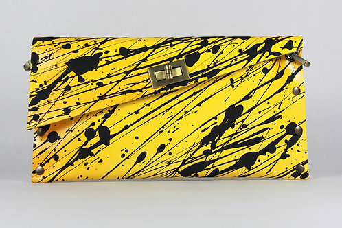 CLUTCH 1 - Yellow Black Splash