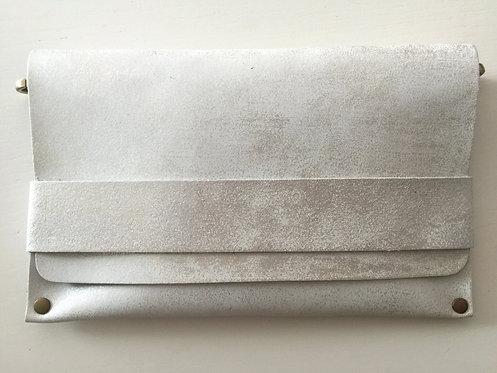 CLUTCH 5 - White Stamp Silver (A)