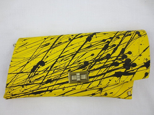 CLUTCH 4 - Yellow Splash Black