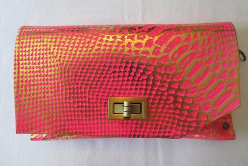 Clutch 8 - Pink Snake Stamp Gold 2