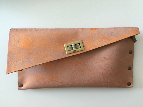 CLUTCH 1 - Nude Stamp Copper