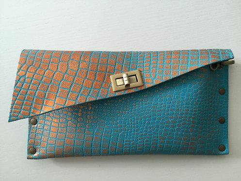 CLUTCH 1 - Tq2 Croc Stamp Copper