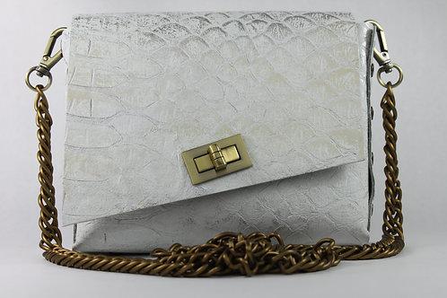 BOX 4 - White Snake Stamp Silver