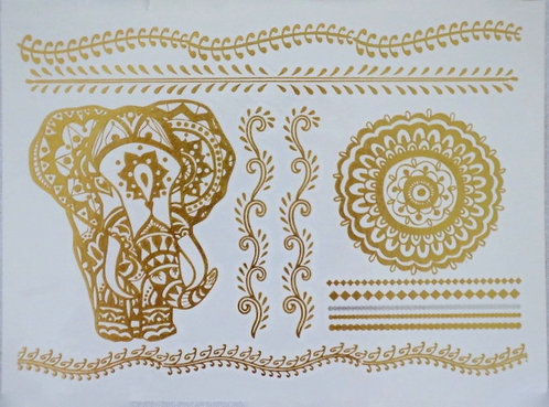 Temp. Tattoos Apollo (GH 32 Whole Elephant)