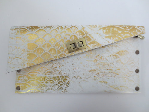 CLUTCH 1 - White Snake Stamp Gold