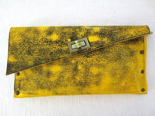 CLUTCH 1 -  Yellow Stamp Black