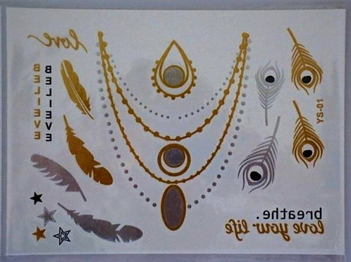 Temp. Tattoos - Themis (YS-01)