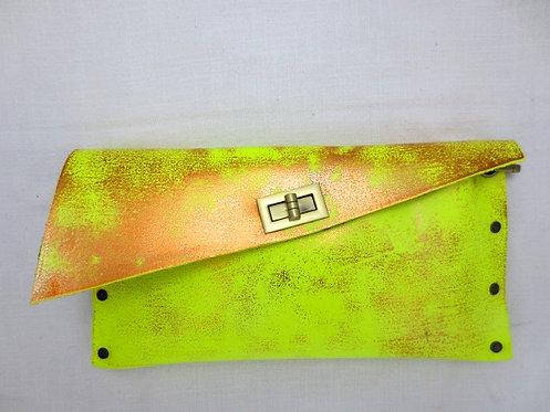 CLUTCH 1 - Neon/Stamp Copper