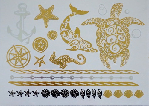 Temp. Tattoos - Adonia (GH12 - Sea)