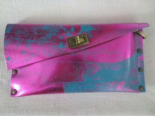 CLUTCH 1 - TQ2 Stamp Metallic Pink