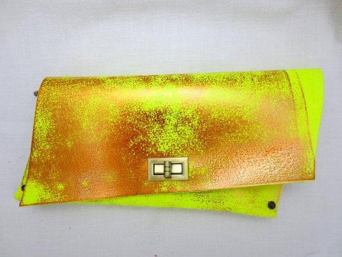 CLUTCH 4 - Neon Stamp Copper