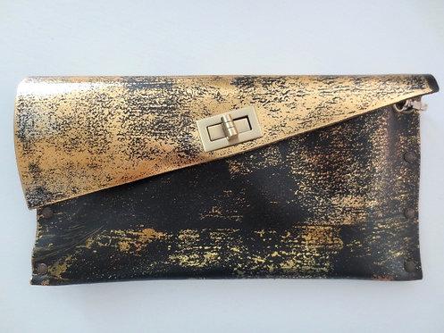 CLUTCH 1 - Black Stamp Gold