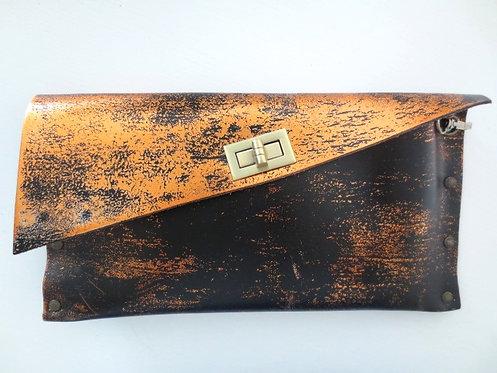 CLUTCH 1 - BLACK Stamp Copper