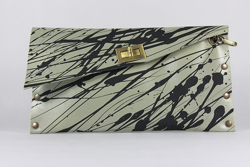 CLUTCH 1 - Grey Black Splash(B)