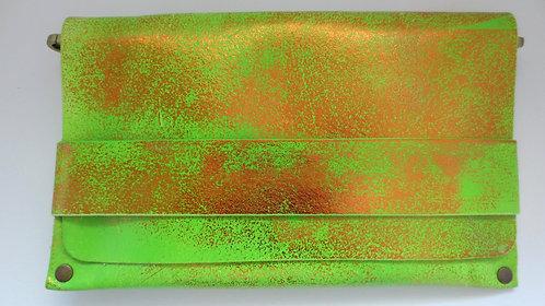 CLUTCH 5 - Neon Apple Green Stamp Copper