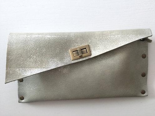 CLUTCH 1 - Grey Stamp Silver