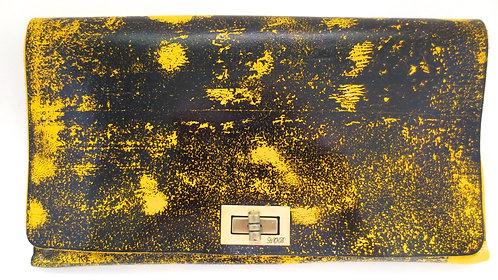 CLUTCH 2 - Yellow Stamp Black