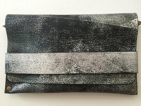CLUTCH 5 - Silver Stamp Black (B)