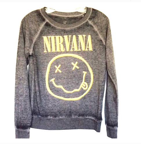 Nirvana Kurt Cobain Pullover Sweatshirt