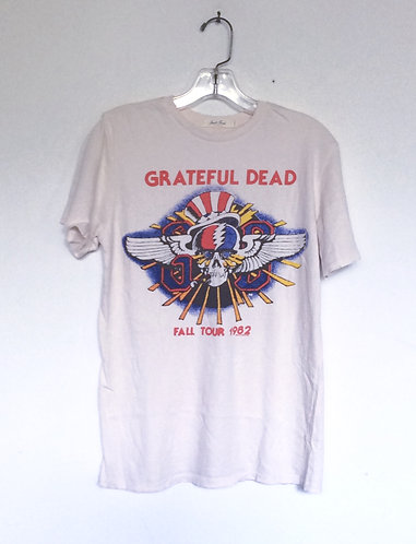 Grateful Dead Fall Tour 82 Band Tee