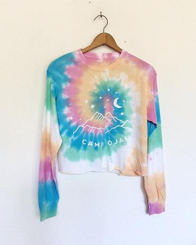 Camp Ojai Tie Dye Long Sleeve T Shirt