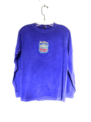 Sublime Long Sleeve Embroidered T Shirt