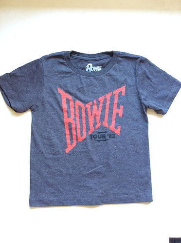 Bowie Concert Tour 83 Kids T-shirt