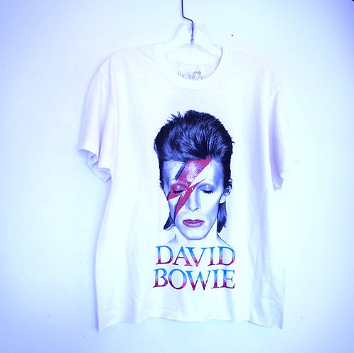 David Bowie Graphic Tee T-Shirt