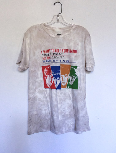 The Beatles Kanji I Want To Hold Your Hand t shirt