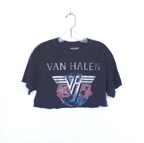 Van Halen 1984 Tour Crop Band T SHIRT