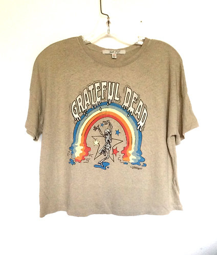 Grateful Dead Cropped Tee T- Shirt