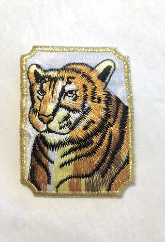 Tiger Patch Iron on Patch