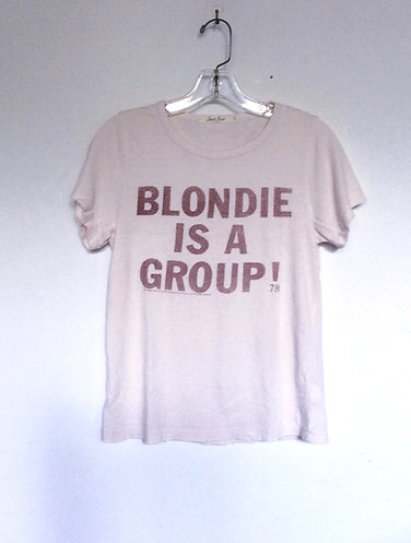 Blondie is A Group 78 Junk Food Tee Shirt