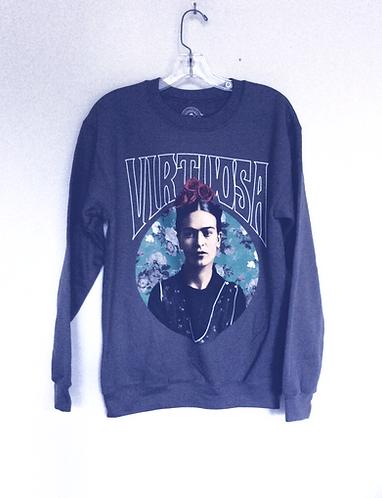 Frida Kahlo Virtuosa Graphic Sweatshirt
