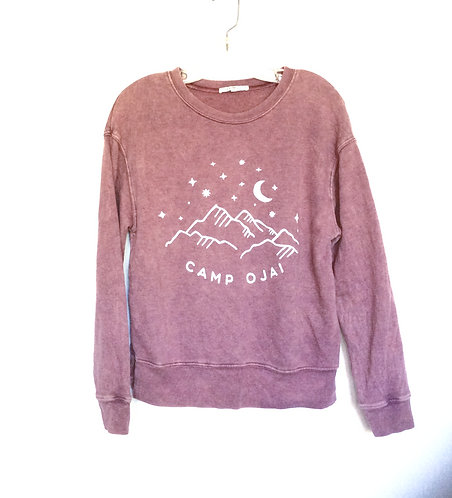 Camp Ojai Starry Night Pullover Sweatshirt