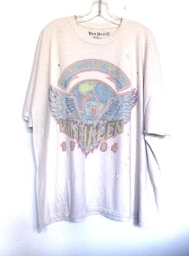 Van Halen Destroyed Tee Shirt Dress