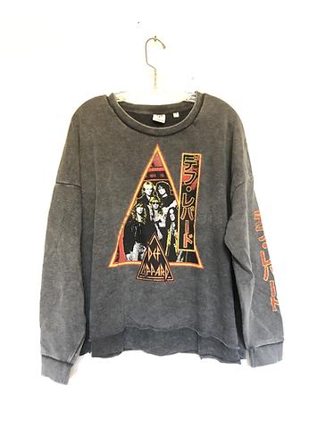Def Leppard Japan Tour Pullover Sweatshirt