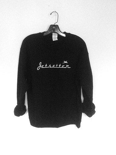 Jetsetter Crew Neck Pullover Sweatshirt