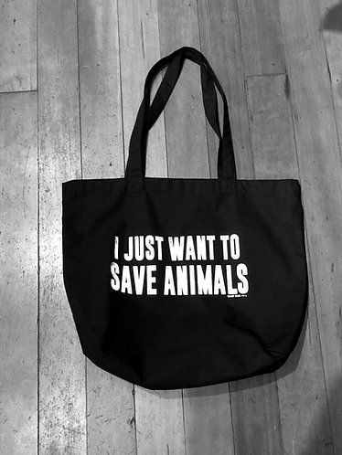 I Just Want To Save Animals Camp Ojai Tote Bag