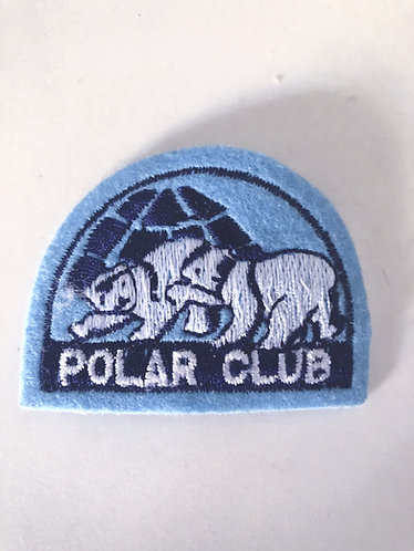 Polar Bear Club Iron on Patch