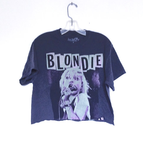 Blondie Cropped 70's Band Tee Shirt