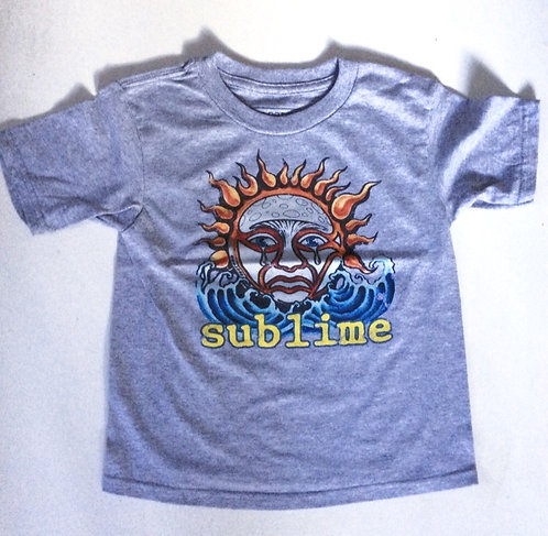 Sublime Classic Sun Childrens Tee Shirt